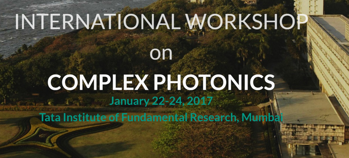 COMPLEXPHOTONICS 2017, BEST WORKSHOP EVER !