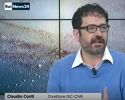 Claudio Conti @RaiNews on Stephen Hawking