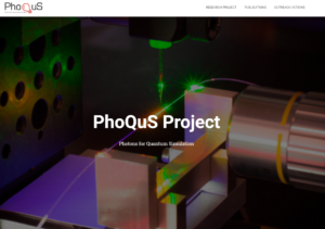 PhoQus Project website is online !